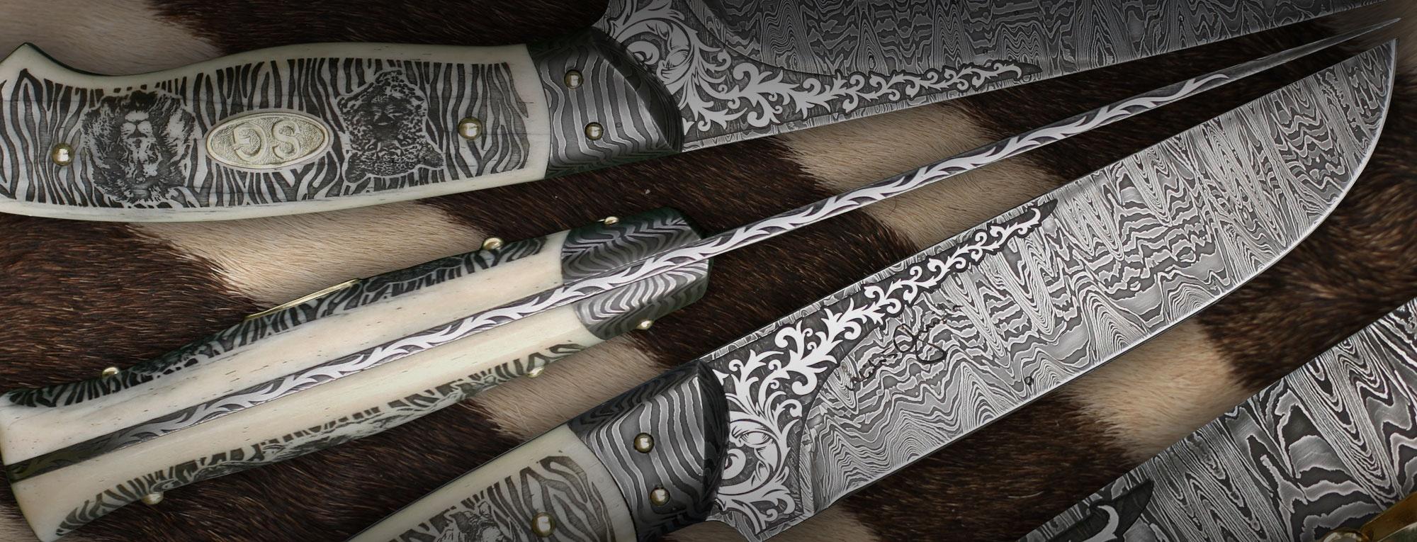 kované nože